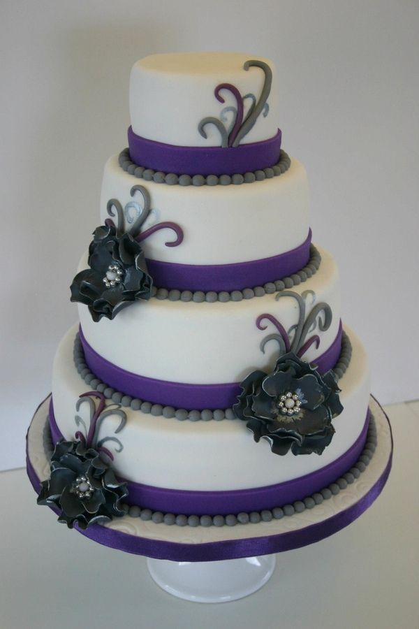 343 best Beautiful Cakes Purples images on Pinterest Biscuits