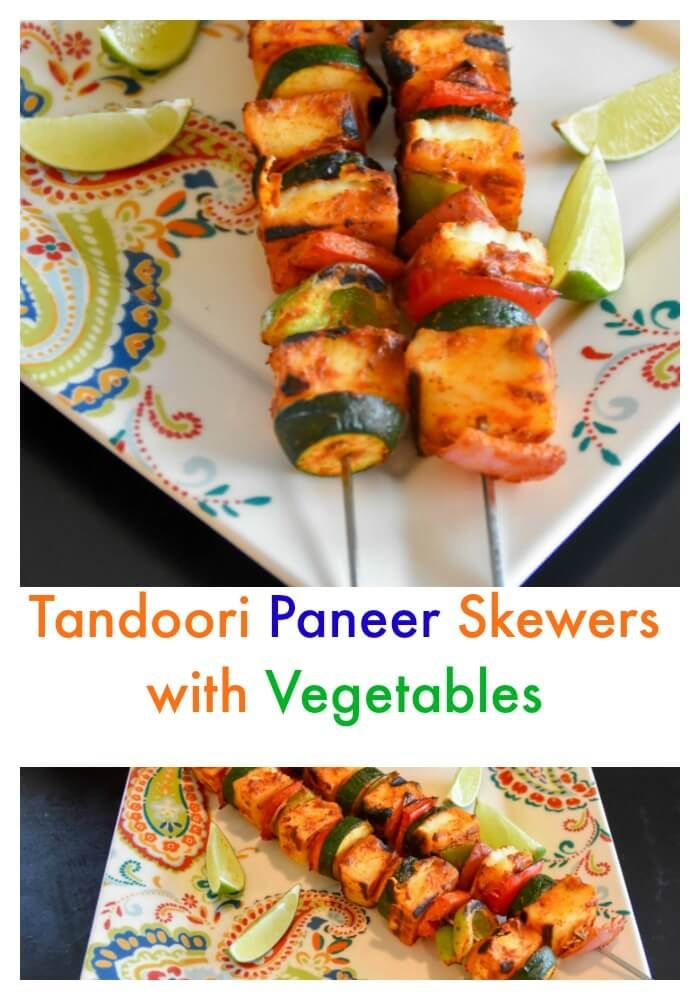 http://zestysouthindiankitchen.com/2017/04/tandoori-paneer-skewers-vegetables-recipemakeover.html . I used same marinade for paneer and chicken.#RecipeMakeover #ad