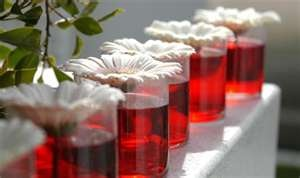 Be creative ......the water color is limitlessRed And White Centerpieces, Centerpieces Ideas, White Flower, Receptions Ideas, Parties Ideas, Colors Water, Wedding Centerpieces, Tables Decor, Events Plans