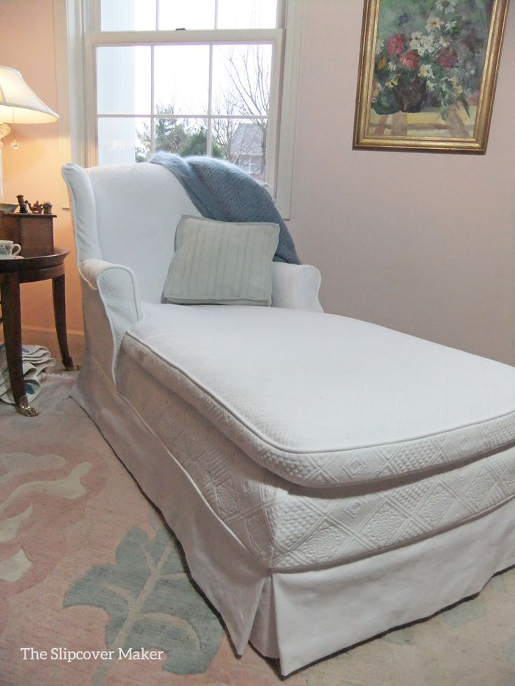 17 Best Images About Chaise Lounge UpholsterySlipcover On