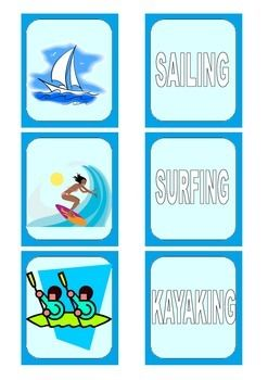 These cards can be used for card games or a Memory game.Rules and tips how to use them are included in the worksheet. esl, memory, game, esl activities, sports