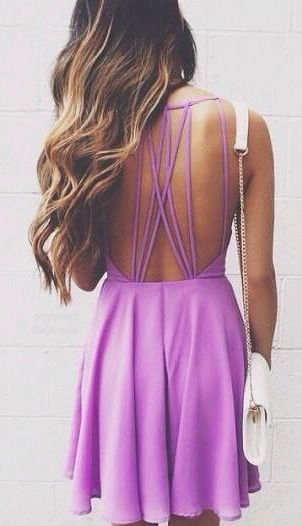 lulu*s strappy back dress
