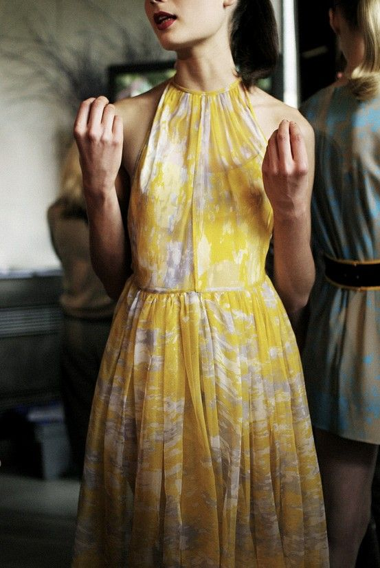 : Summer Dresses, Fashion, Style, Wedding, Outfit, Yellow Dress