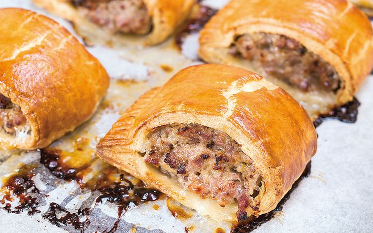 Good quality pork is mixed with fresh herbs and spices, wrapped in a buttery,   flakey pastry and serves warm for the best sausage roll you'll ever make