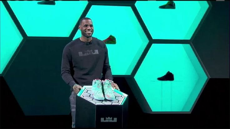 LeBron James unveiled his new LeBron 12's at Nike Headquarters on September 16th.