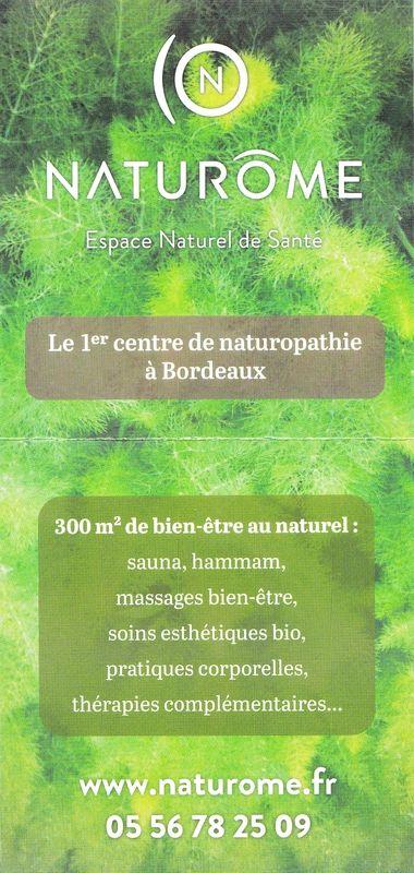 Naturôme - Espace Naturel de Santé - Bordeaux 4 MISS/5