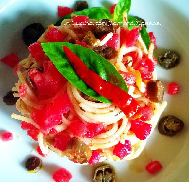 In Cucina con Mamma Agnese: Spaghetti alla Norma a modo Mio 🍝