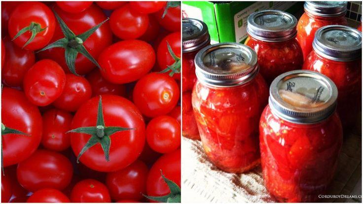 Jedinečný spôsob, ako konzervovať paradajky, aby ostali chutné po celý rok!