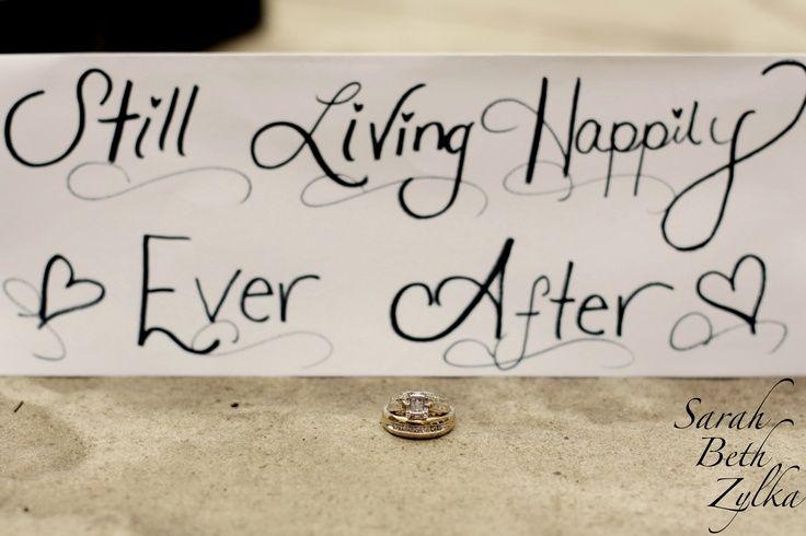 50th anniversary decorations | 50th Anniversary ring photo idea~