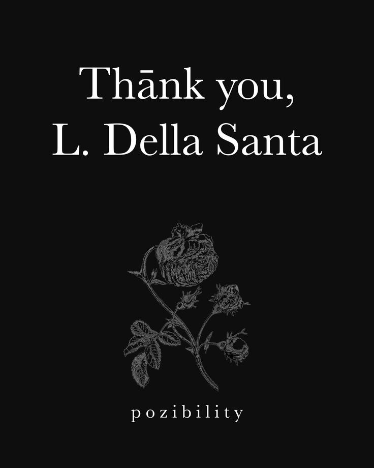 Thank you immensely, Liana Della Santa, for contributing to the Pozible campaign! I still think you should share your jazzilicious version of The Kinks' 'Sunny Afternoon' that you did with Ethan. The world must know ;) #MerciBeaucoup