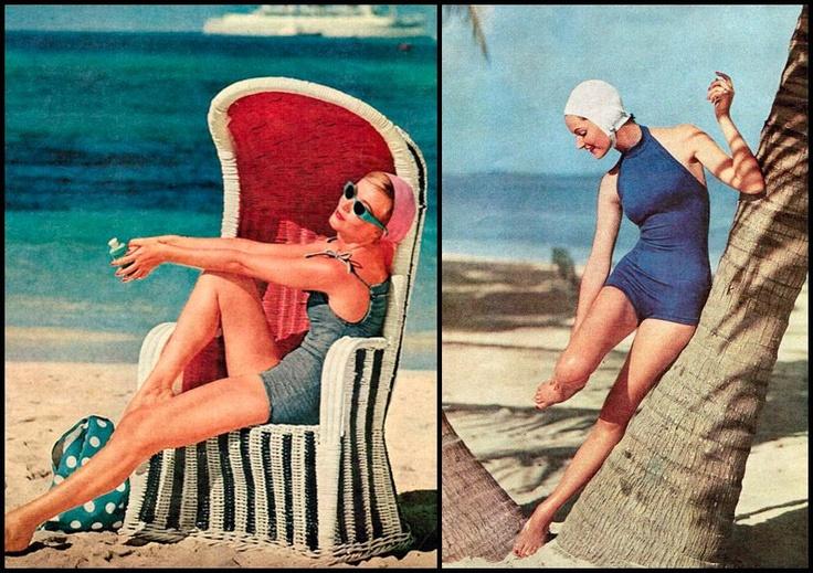 История купальника в фото, винтажные купальники