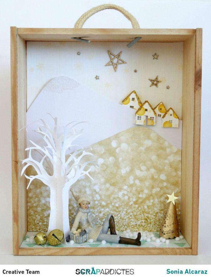 Diorama de invierno