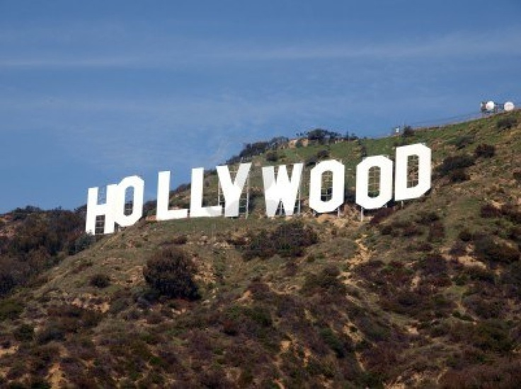 Hollywood sign  1970sHollywood Sign 1970s