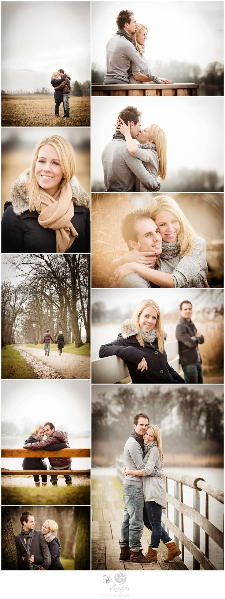 Pre-Wedding Fotoshooting im Winter am Chiemsee (Januar) #engagementsession #wint... - Wedding Fotoshooting