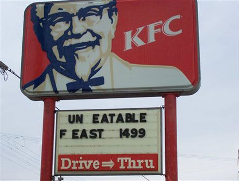 Best Restaurant Signs Ideas On Pinterest Driving Signs - 24 funniest signs ever spotted around 6 just brilliant