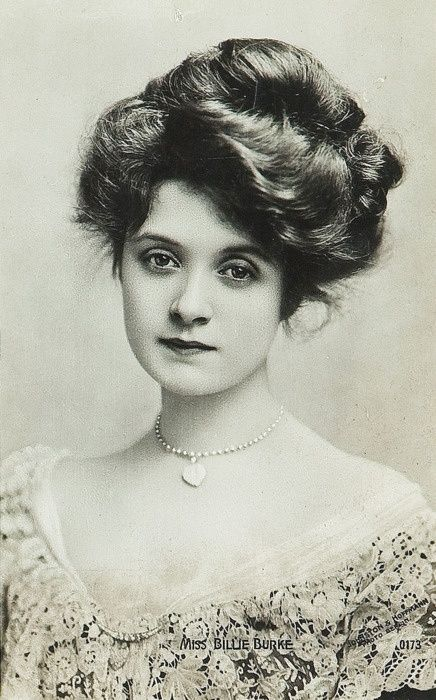 Billie Burke - 1890 - 1900's - she played Glenda the Good Witch in the movie (1939)The Wizard of Oz.