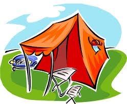 Het meest geniet ik van een kampeervakantie.