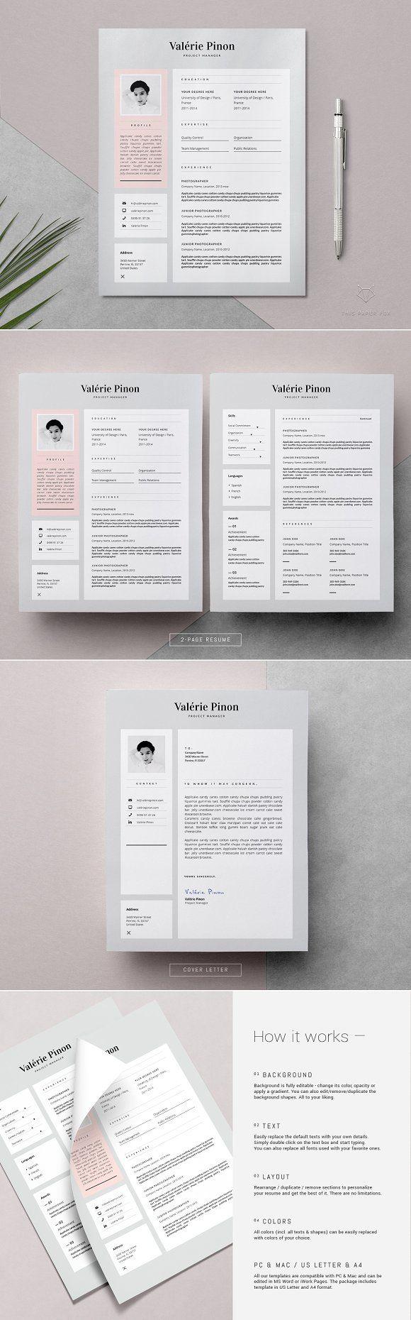Best 25 Resume Design Template Ideas On Pinterest Resume