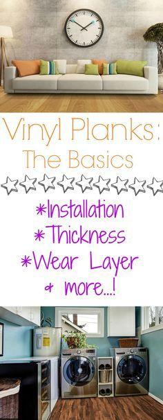 Vinyl Planks Basics:
