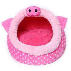 Figura del maiale rosa pet casa canile penna cane gatto