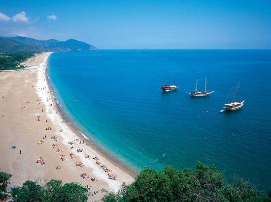 Çıralı Beach is one of most well-known beach of Turkey