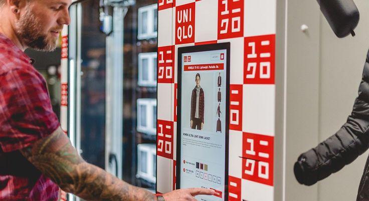 "Novo significado para o termo ""fast fashion"" : Uniqlo lança máquinas de venda automática de roupas - Stylo Urbano #moda #Uniqlo #fastfashion"