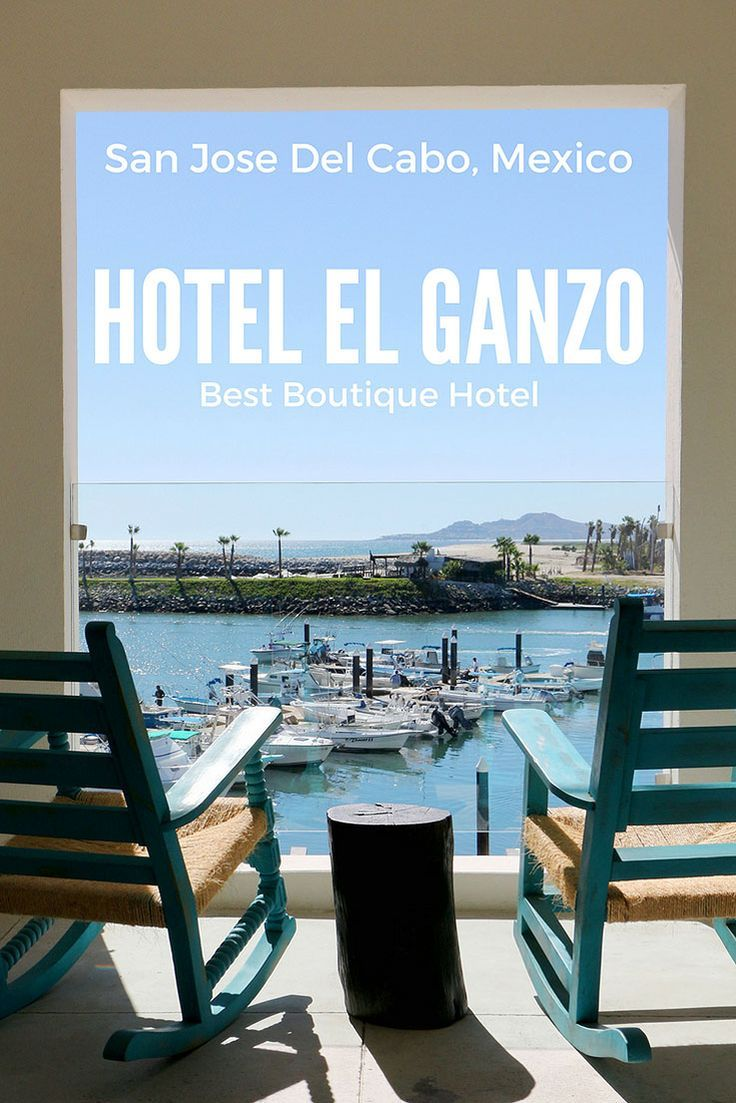 Where to stay on your next holiday to Los Cabos? Why not try Hotel El Ganzo? Charming views over a picturesque marina are just one reason why we think Hotel El Ganzo is the best boutique hotel in San Jose del Cabo, Mexico. It also has a great art and music focus.