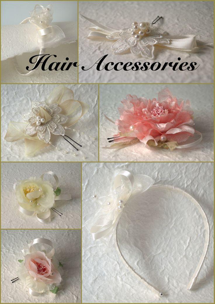 Hair accessories handmade by Teresa Gallian