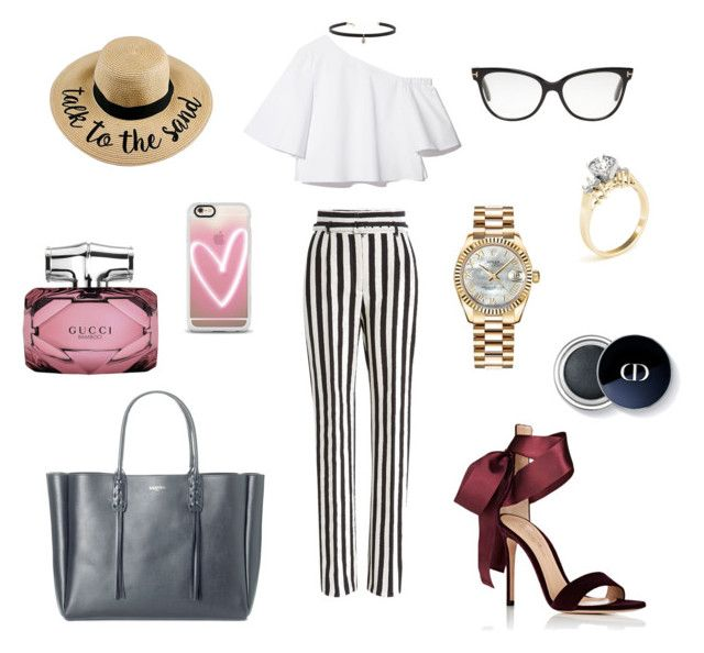 """""""Untitled #331"""" by gloriatovizi on Polyvore featuring Dolce&Gabbana, Gianvito Rossi, Carbon & Hyde, Lanvin, Tom Ford, Gucci, Rolex and Casetify"""