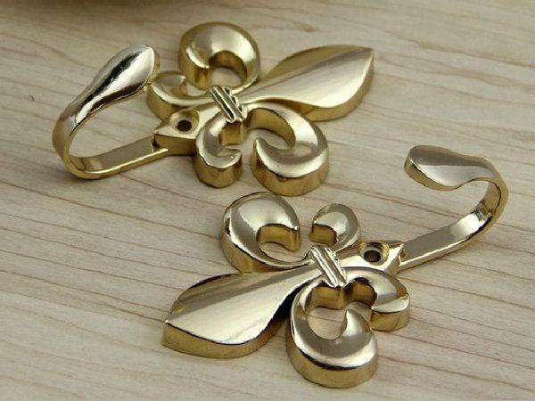 Lynnsgraceland Fleur De Lis Hooks Silver Gold Bronze 6 50 Http Mycommerce Pinterest