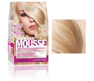 Sublime Mousse 1000 Bardzo Jasny Naturalny Blond