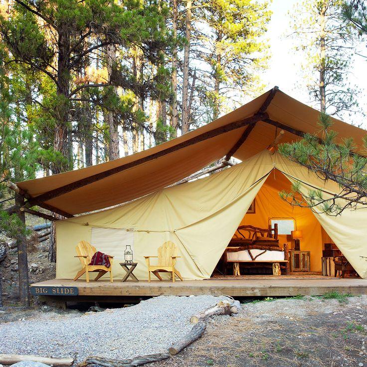 Get a massage in the wilderness
