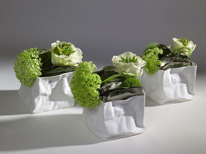 SERAX, Kiki paper bag #serax #vase #ceramica #effettocarta #primavera #ideadecor #homedesign #homedecor #portalumini #flower #vase #original #design #ecommerce #quality