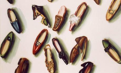 lisa milroy - shoes