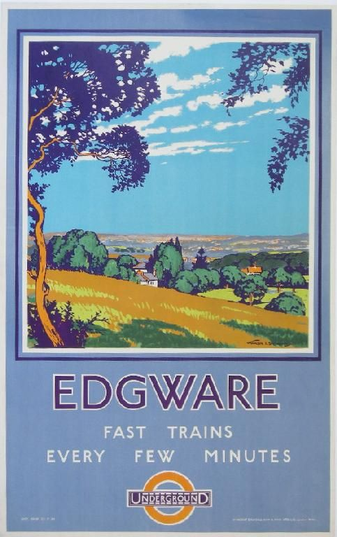 Fast trains from Edgware.