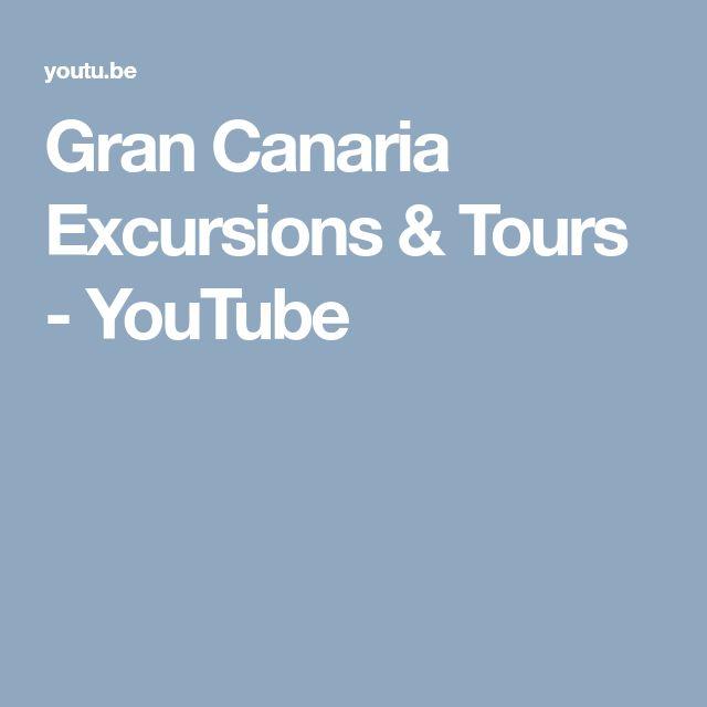 Gran Canaria Excursions & Tours - YouTube