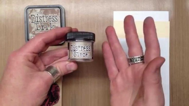 Tim Holtz and Ranger introduce Distress Micro Glaze™ - 1 of 4 new Distress accessory products...