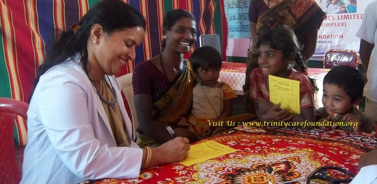 Our focus is Women and Children Health, which is neglected in rural areas of Karnataka.  http://trinitycarefoundation.org/about-us