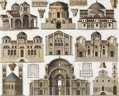 Byzantine Architecture- Elevation