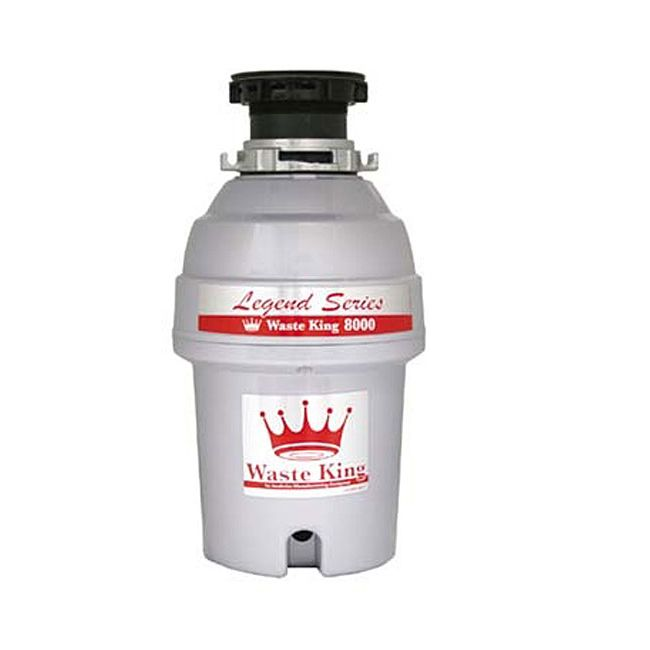Waste King 8000 1 HP Garbage Disposal - Overstock™ Shopping - Big Discounts on Waste King Disposals