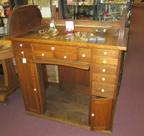Beautiful oak roll top jewelers bench watchmakers bench desk ebay antiques pinterest Watchmakers bench