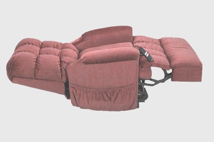 Fully Recling Chair Reliance 5555 Full Recline Lift