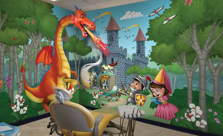 47 best Wall Murals by Imagination Dental Solutions images ...