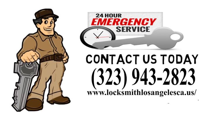 24 Hour Emergency Locksmith Los Angeles, CA | (323) 943-2823