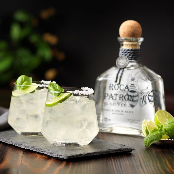 Go green with the Basil Lime Margarita.