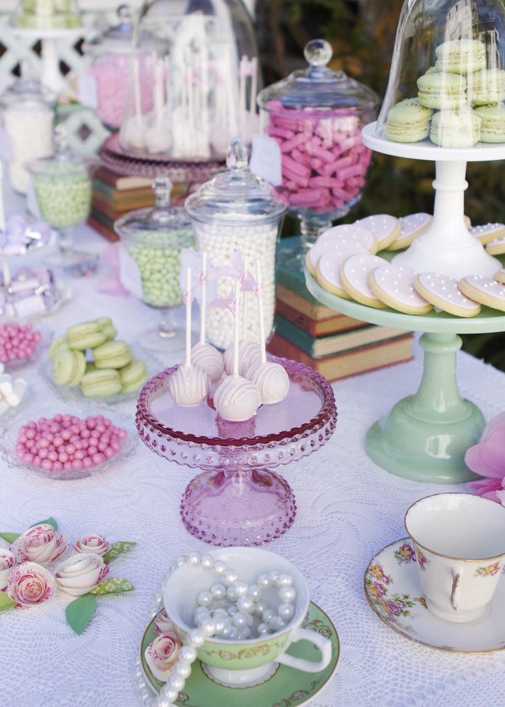 Tea party decorating photo 1 of 2