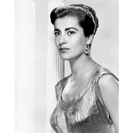 Irene Papas Canvas Art - (16 x 20)