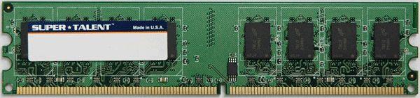 Super Talent DDR2-533 1GB/128x8 CL4 Memory