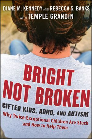 "The talents of some of our most brilliant kids may never be recognized because these children fall into a group known as twice exceptional, or ""2e"". These kids are both gifted and diagnosed with a disability—often ADHD or an Autism Spectrum Disorder—leading teachers and parents to overlook the child's talents and focus solely on weaknesses. This book sheds light on this vibrant population, identifying who twice exceptional children are and taking an unflinching look at why they're stuck."