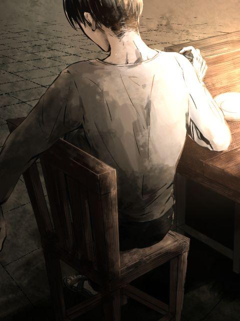 Attack on Titan, Squad Levi's table